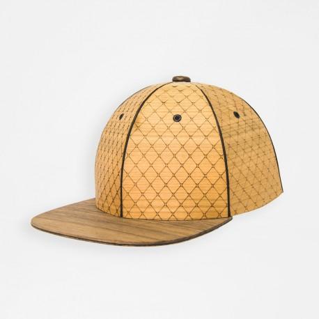 KAPL Light: cherry wood crown and walnut wood brim
